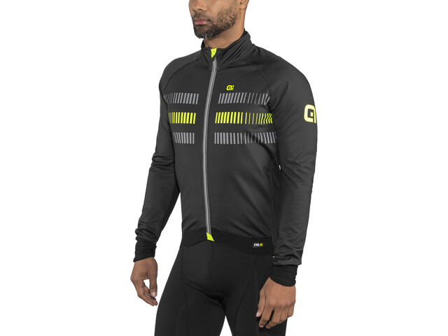 Alé Cycling Graphics PRR Strada 2.0 Veste Homme, black-fluo yellow